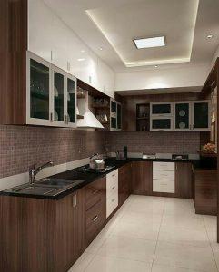 Model Kitchenset Minimalis Berbentuk L Pabrik Kitchen Set Bekasi